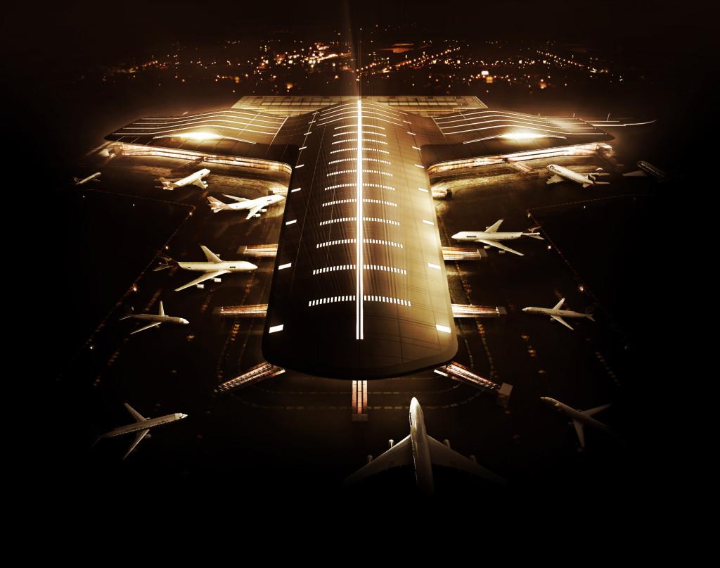 Terminal 3 - Imagem 4 - noturna